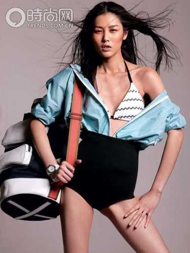 刘雯 掀起国际T台中国热的女孩